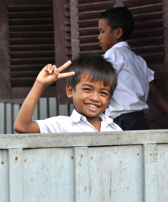 Child at Koh Ker School Cambodia, Ponheary Ly Foundation