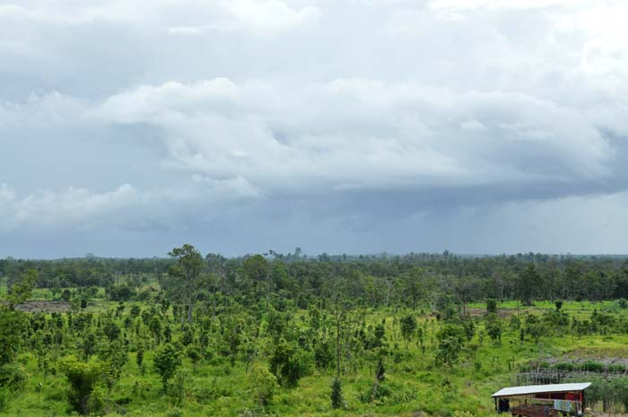 View from Koh Ker Guesthouse
