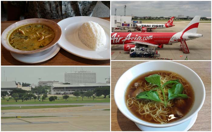 Layover in Bangkok's Don Muang Airport, Thailand