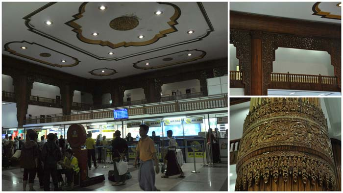 Domestic terminal in Yangon Myanmar Airport