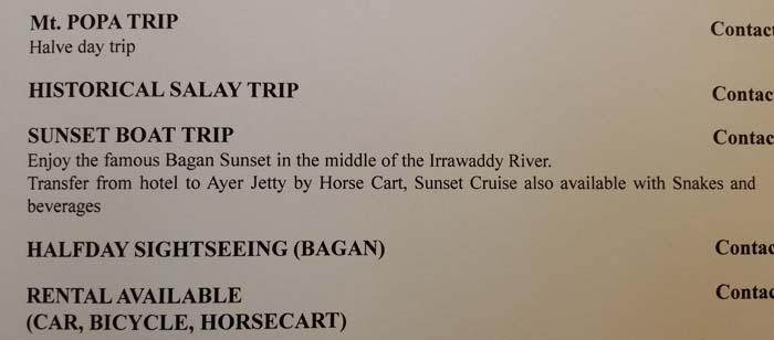 Hotel Tharabar Tours