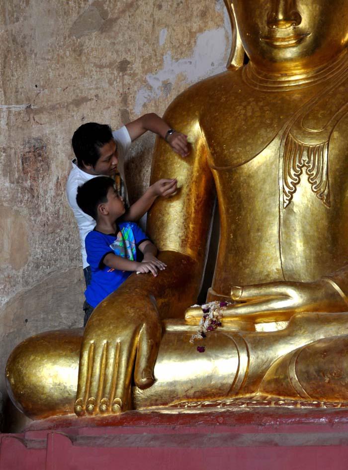 Gold Buddha Sulamani Temple