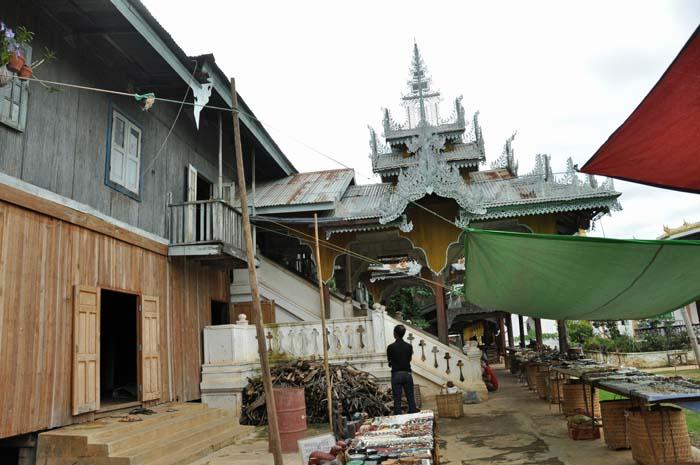 Ywama village pagoda