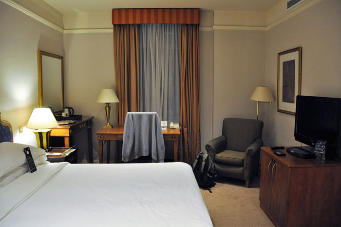 London Sheraton Park Lane Room