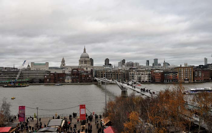 St. Paul's from the Tate Modern