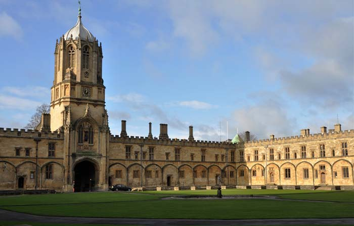 Part of Oxford University