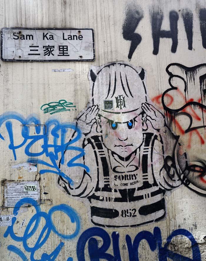 Graffiti in Central