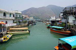Thumbnail image for Hong Kong's Lantau Island Tai O Fishing Village