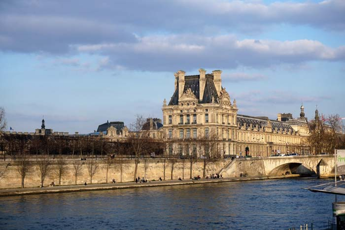 On The Seine In Paris