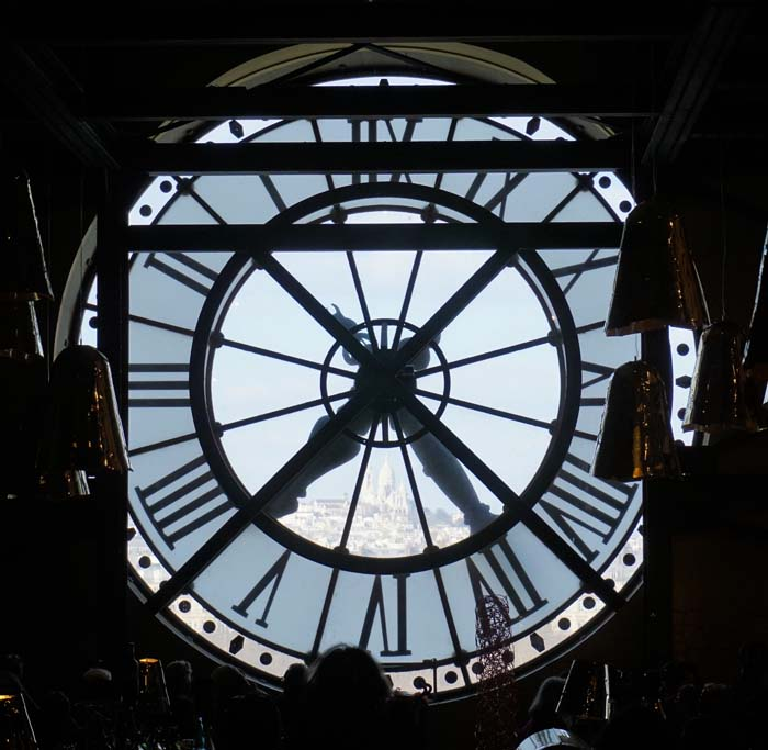 Inside the d' Orsay restaurant.