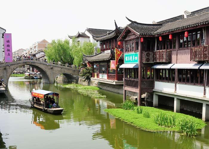 Quibao water village near Shanghai