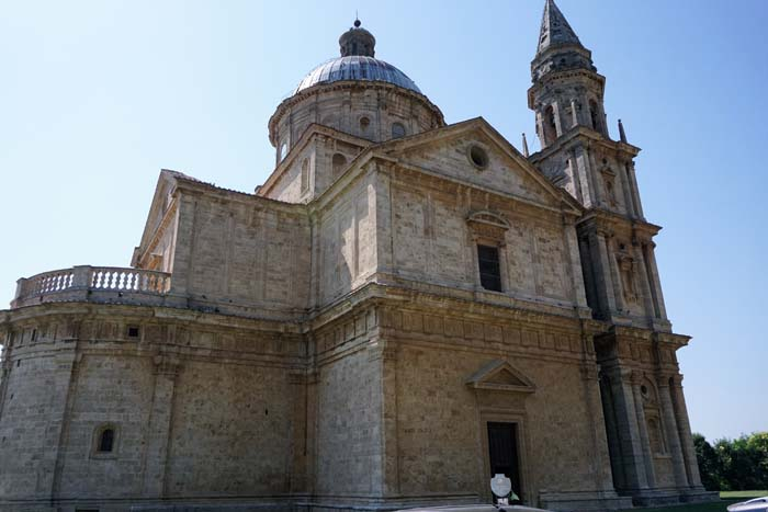 Church of St Biagio in Montepulciano