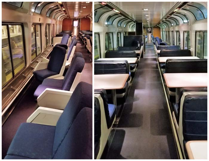 Amtrak Lounge Car on Capitol Express
