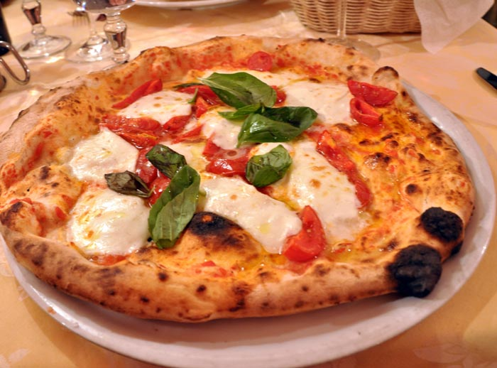 Pizza At Antica Pizzaria Ristorante Port Alba Naples