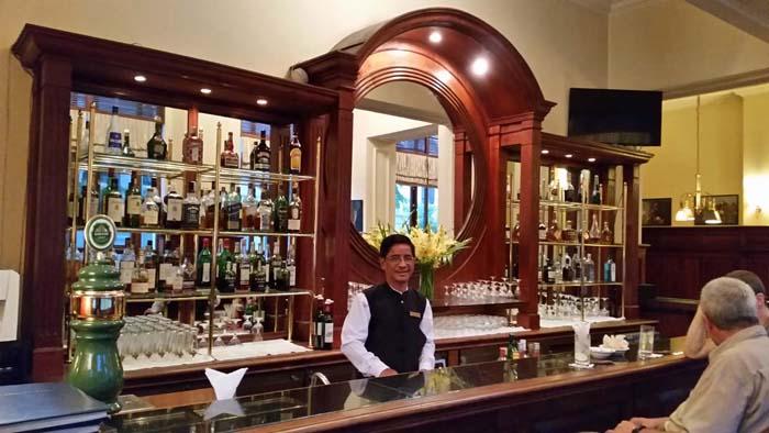 Strand Hotel Bar Yangon Myanmar